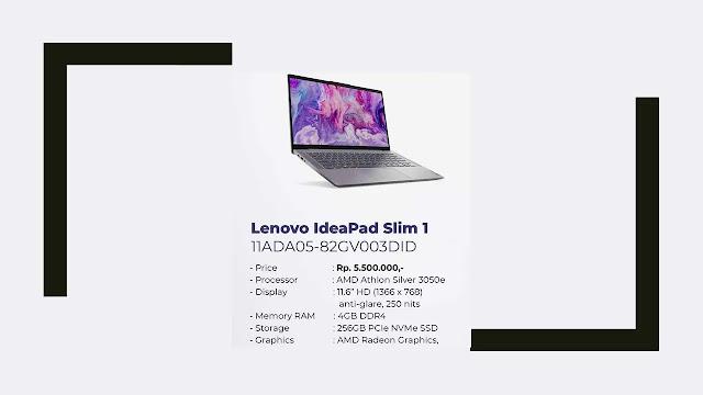 Laptop Lenovo IdeaPad Slim 1