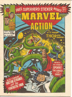 Marvel Action #2, Thor
