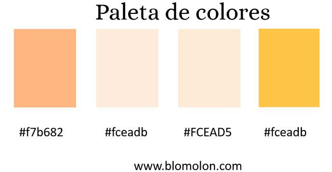 paletas de colores 1