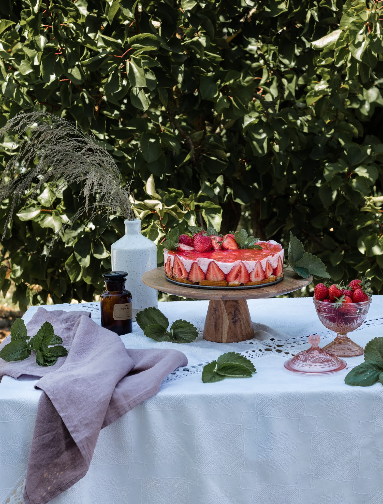 receita simples de semifrio de morango