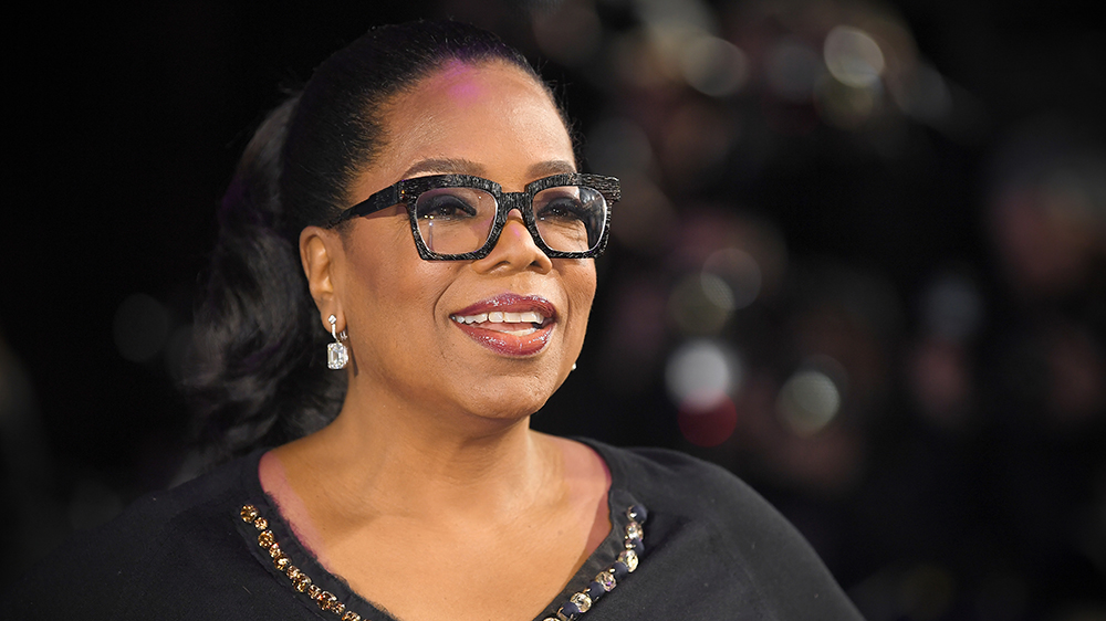 Oprah Always smiles