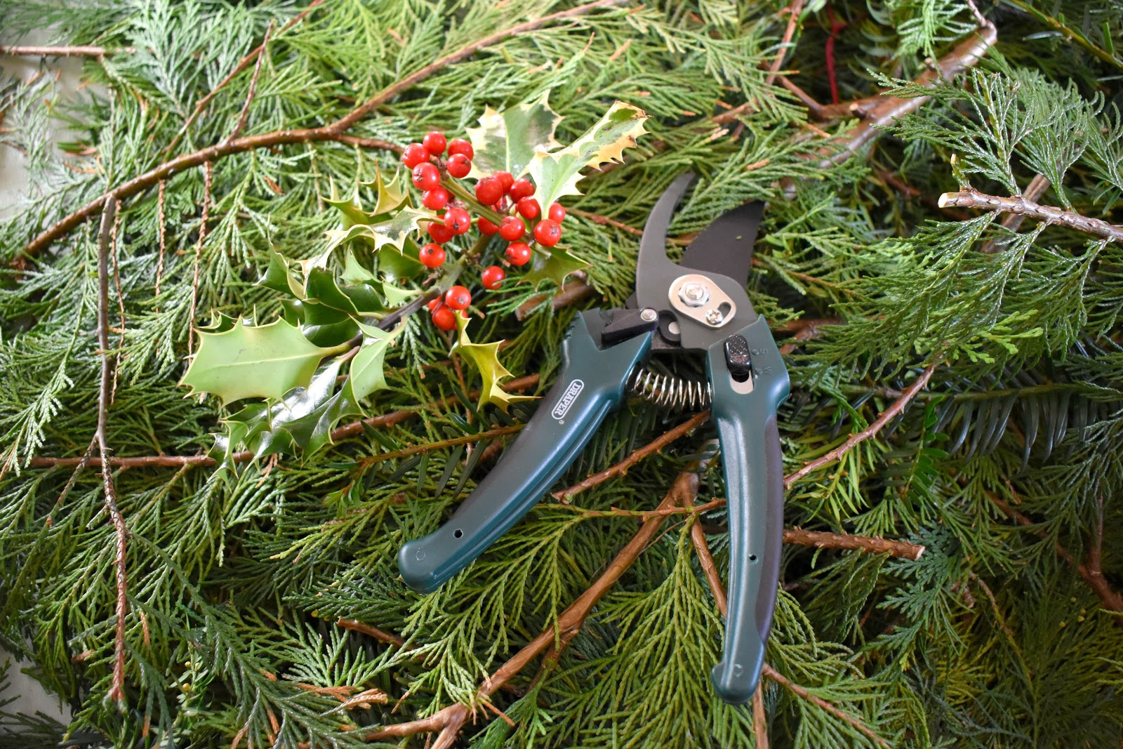 Christmas at Cragside - Wreath Making