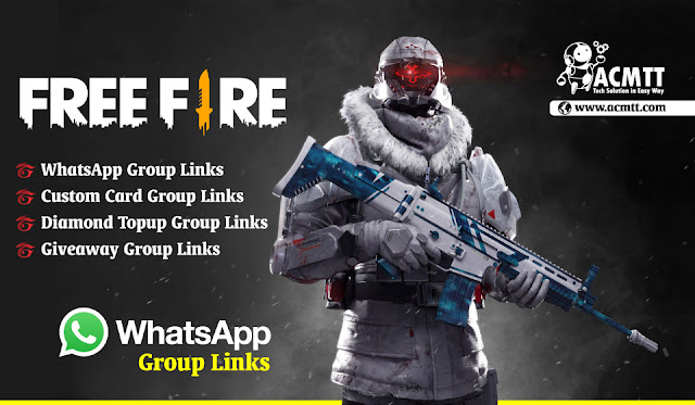 500+ Freefire Active WhatsApp Group link to make Your Community Strong