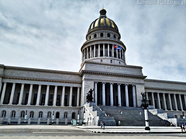 Kapitol w Hawanie, stolicy Kuby