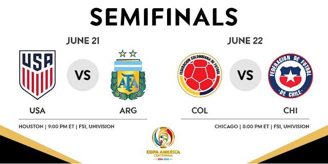 Copa America Semi Finals