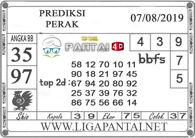 """PREDIKSI TOGEL """"PERAK"""" PANTAI4D 07 AGUSTUS 2019"""