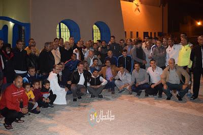 حفل تكريم وتوديع رئيس المنطقة الامنية بالطنطان محمد ايت بن بوشعيب