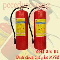 Bình chữa cháy bột BC MFZ8-8kg