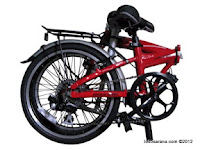 20 Inch FoldX Viking 7005 Aluminium Alloy Folding Bike