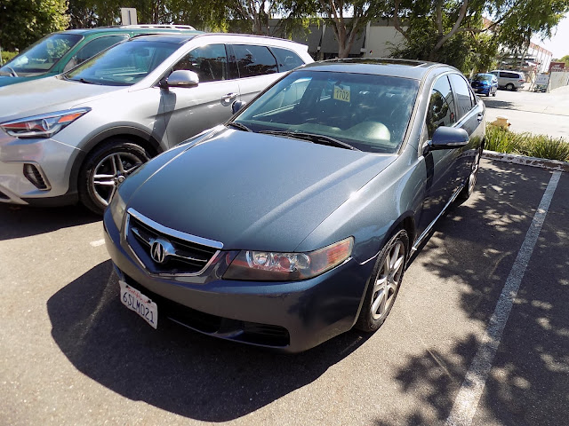 Acura TSX after repainting at Almost Everything Auto Body.