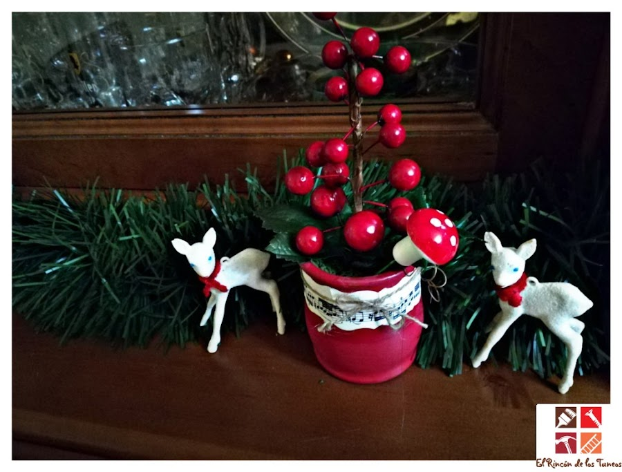 diy arbol navideño
