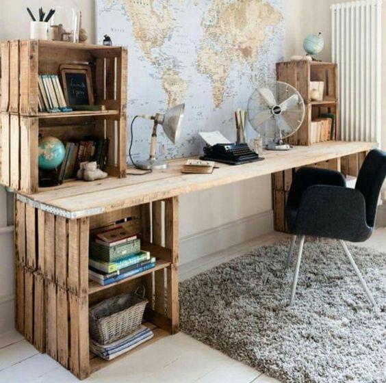 escritorios infantiles muy originales y creativos