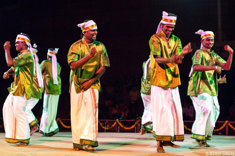Thevarattam Folk Dance from Tamil Nadu.