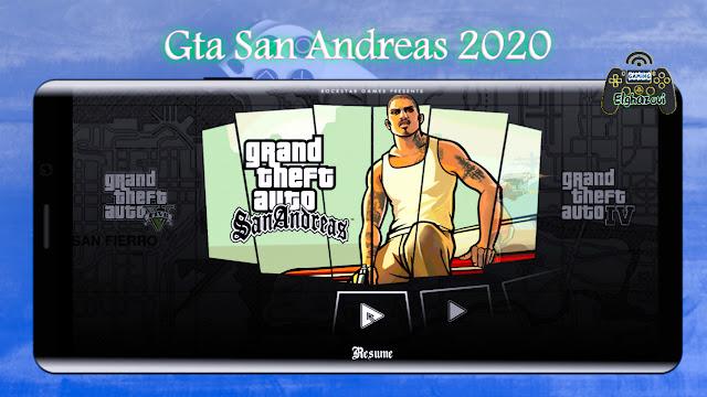 تحميل لعبة GTA SAN 2020 الأصلية كاملة للاندرويد أخر اصدار بقائمة الغش