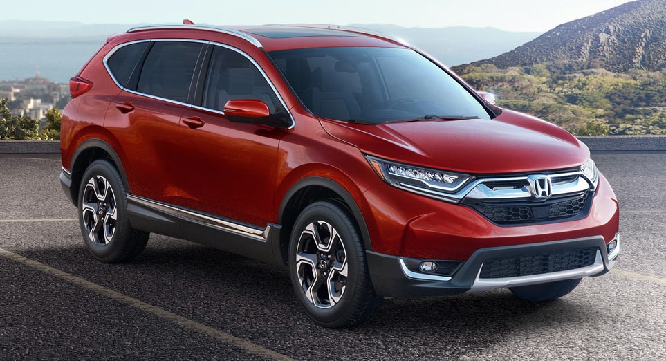 all new 2017 honda cr v gets a 190hp turbo engine