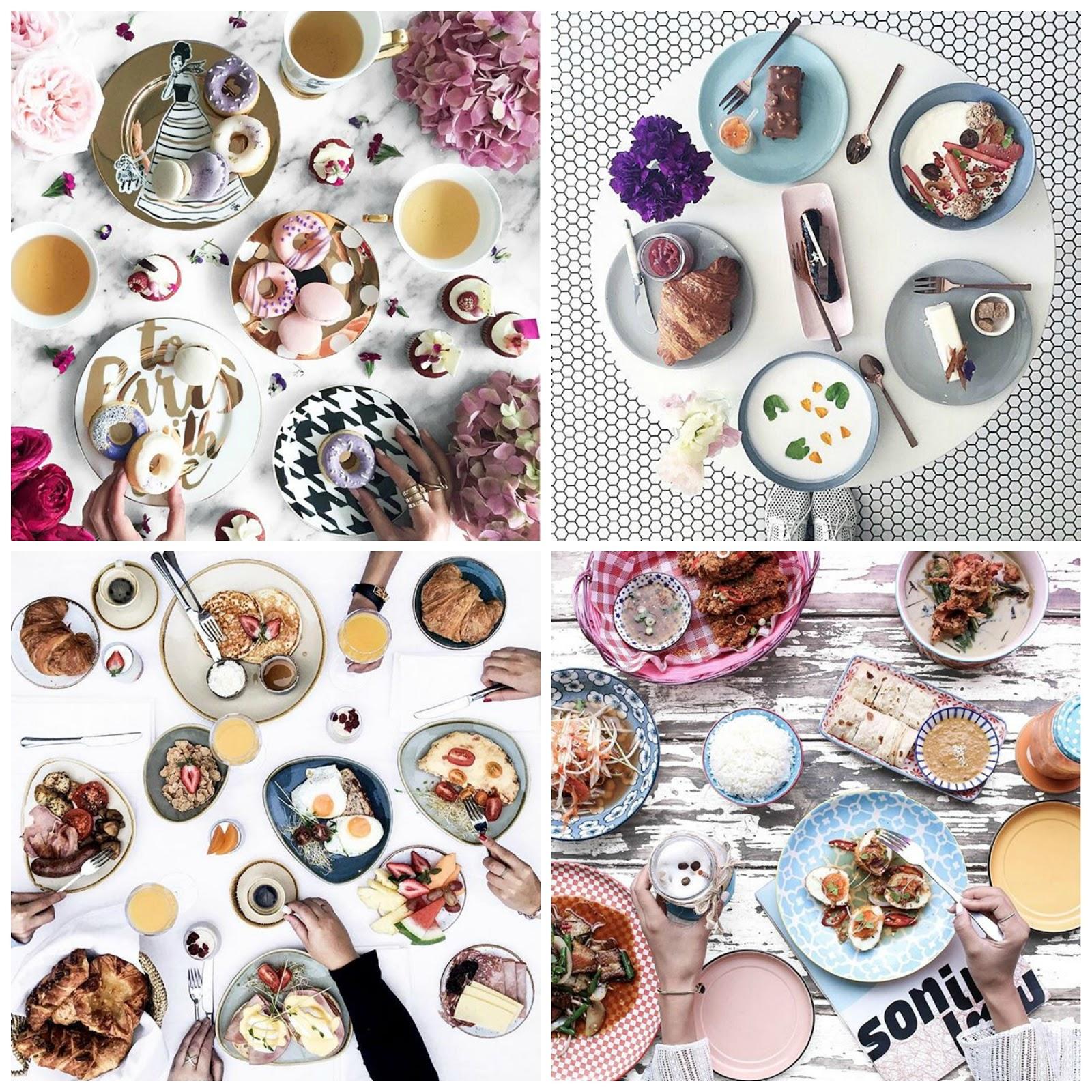 Food Flatlays   Instagram