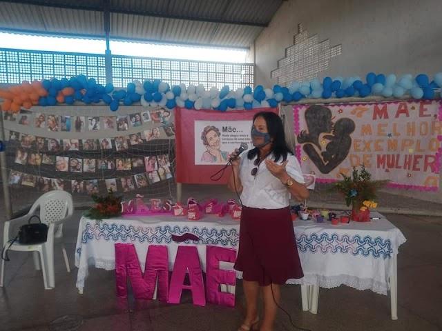 Dia das Mães no CRAS do São Vicente de Paula