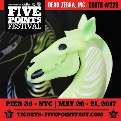 Five Points Festival Exclusive Glow in the Dark Edition The Last Knight Vinyl Figure by Andrew Bell