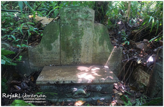 Lim Chin Hin's tomb in Lao Sua