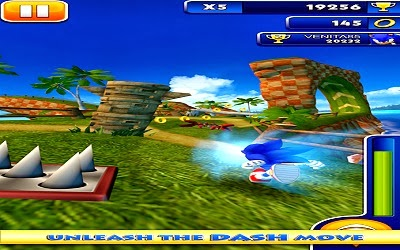 Sonic for Android game