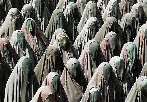 Burkha of Secularism Vs Naked Communalism