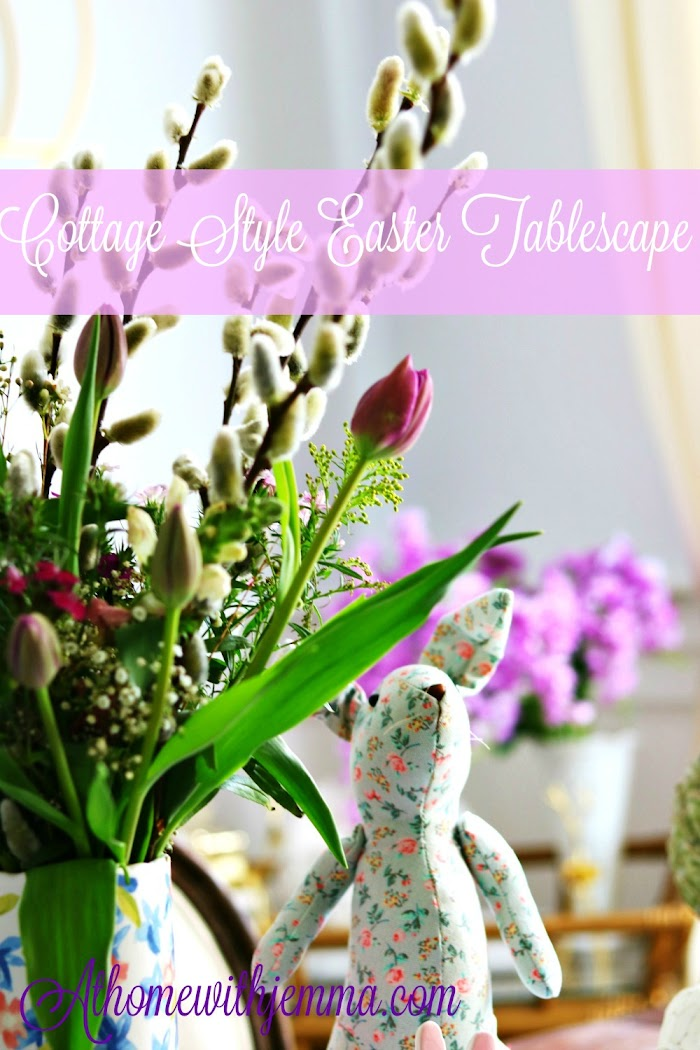 Easter Luncheon: Setting A Cottage Style Tablescape