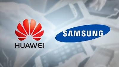 هواوي تعمل تقليص اعتمادها على مكونات Samsung وذلك بسبب الحظر