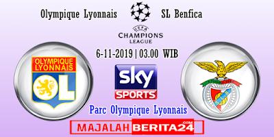 Prediksi Lyon vs Benfica — 6 November 2019