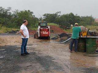 Prefeito de Registro-SP cobra celeridade em obras do Jardim Agrochá