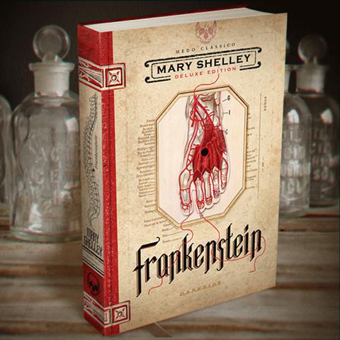 Frankenstein em Edição de Luxo na Dark Side Books