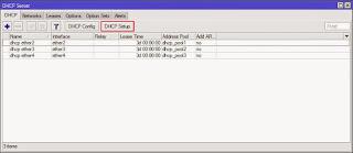 DHCP Server semua interface
