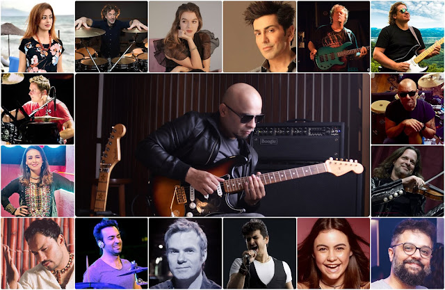 Pakistani guitarist and music producer Kashan Admani has assembled the top musical talent from all over the world to collaborate on a music project and spread a message of hope and unity in these testing times.