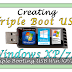 Triple Bootable USB Windows XP/7/8