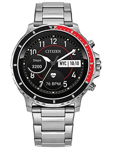 Citizen CZ MX0000-58X Smartwatch iPhone and Android Compatible