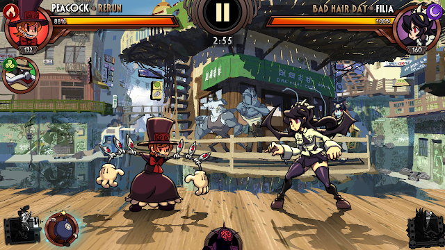 Total Size Game Skullgirls Game Fighting 2D Android - Cantik Banget!