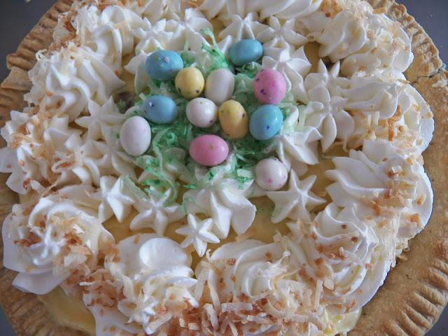 Coconut Surprise Pie