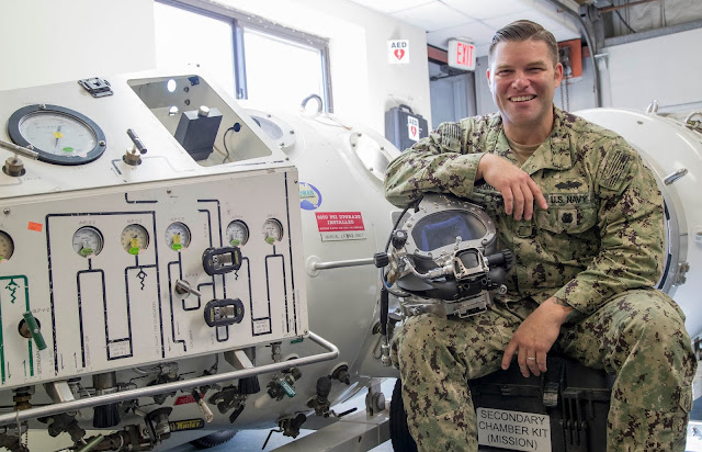 US Navy Diver of the Year is a 2001 New Boston High School graduate from Texarkana