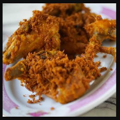 Resep Ayam goreng bumbu yang kuning yang rasanya nendang dan enak
