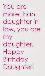Daughter In Law Birthday Quotes Sayings And Wishes Quotes Tree