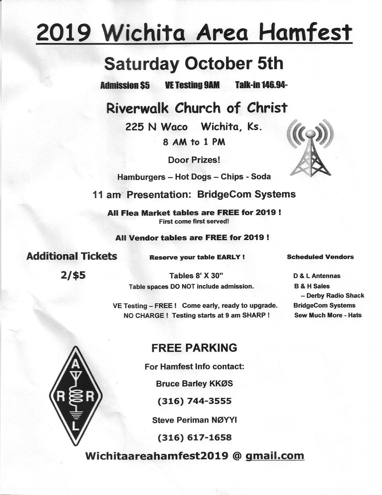 ARRL Oklahoma | Oklahoma Repeater Society Inc