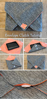 DIY Envelope Clutch (iPad/Tablet Case) Tutorial