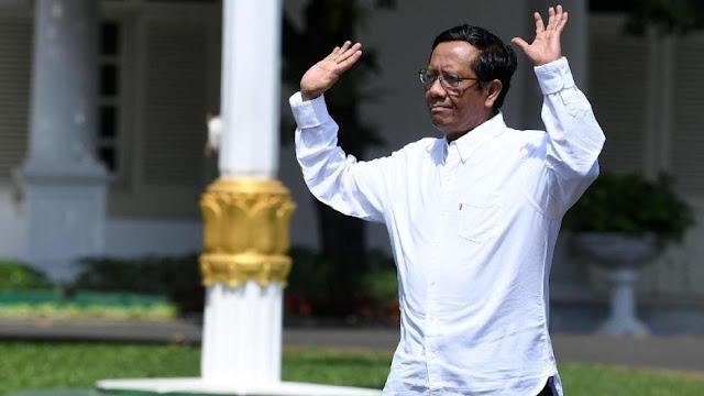 Mahfud Md Datang Ke Istana, Sah Jadi Menteri Jokowi