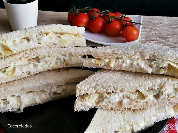 Sándwich vegetal estilo Rodilla fácil y rápido