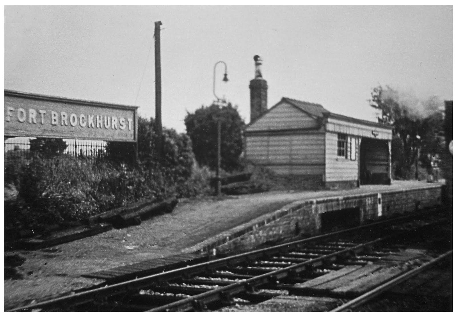 Fort Brockhurst down platform