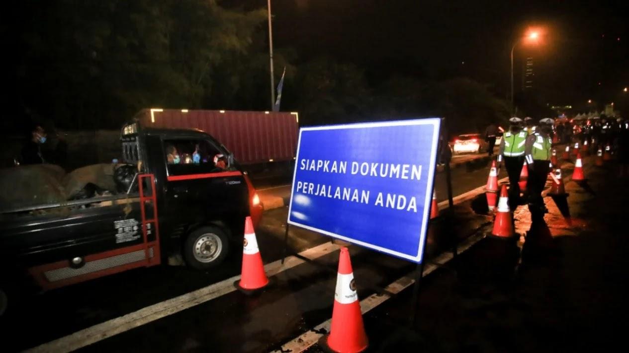 Sudah Dua Hari Penyekatan, Polisi Sudah Putarbalikan Ratusan Pemudik Tangerang-Serang