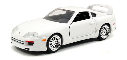coleccion rapido y furioso, coleccion rapido y furioso jada tyos, coleccion rapido y furioso 1/32, 1995 Toyota Supra