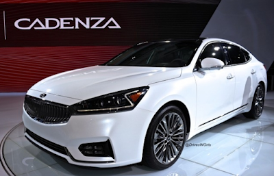 2018 Kia Cadenza Specs, Price, Powertrain