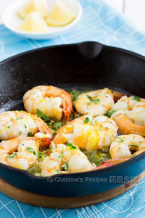 Lemon Garlic Prawns03