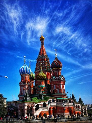Pocztowka z Rosji - Moskwa