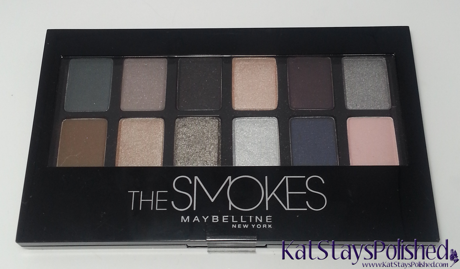Maybelline - The Smokes Eye Shadow Palette | Kat Stays Polished